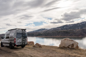 summit-adventure-van-horsetooth-lake