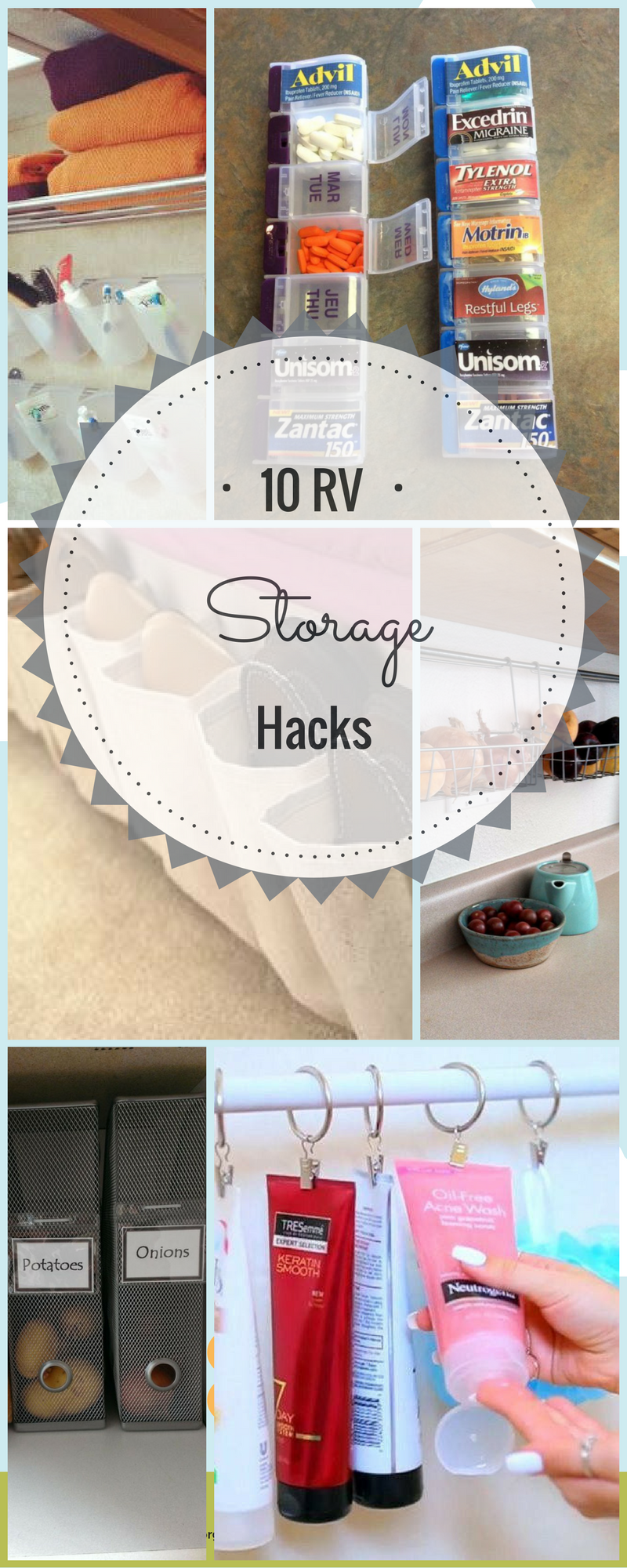 10 Amazing Rv Storage Hacks